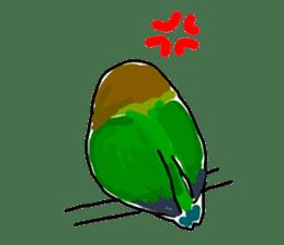 Graffiti LOVEBIRD sticker #310361