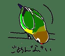 Graffiti LOVEBIRD sticker #310362