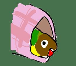 Graffiti LOVEBIRD sticker #310364