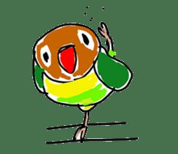 Graffiti LOVEBIRD sticker #310365
