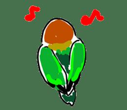 Graffiti LOVEBIRD sticker #310369