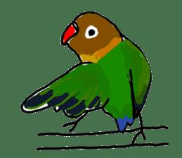 Graffiti LOVEBIRD sticker #310370