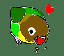 Graffiti LOVEBIRD sticker #310371