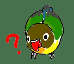 Graffiti LOVEBIRD sticker #310379