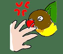 Graffiti LOVEBIRD sticker #310381