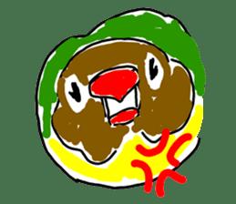 Graffiti LOVEBIRD sticker #310382