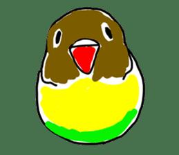 Graffiti LOVEBIRD sticker #310384