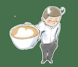 i love coffee sticker #310985