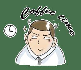 i love coffee sticker #310987