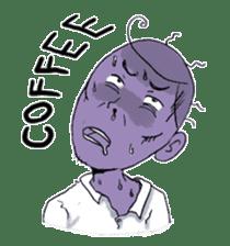 i love coffee sticker #311003
