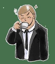 i love coffee sticker #311009