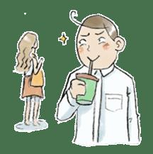 i love coffee sticker #311013