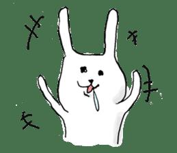 Drool rabbit sticker #311385