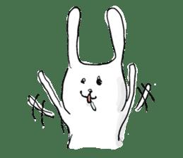 Drool rabbit sticker #311386