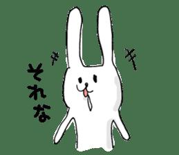 Drool rabbit sticker #311387