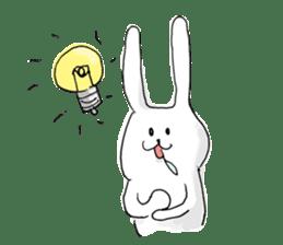 Drool rabbit sticker #311391