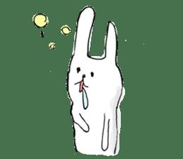 Drool rabbit sticker #311393
