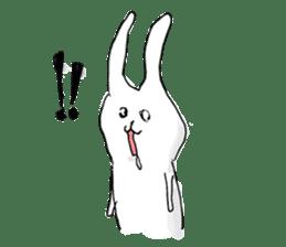 Drool rabbit sticker #311396