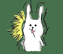 Drool rabbit sticker #311397