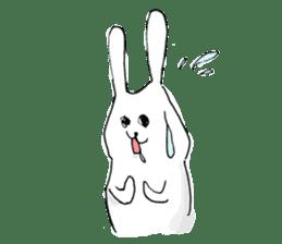 Drool rabbit sticker #311398