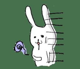 Drool rabbit sticker #311402