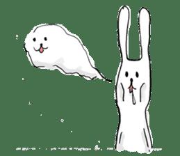 Drool rabbit sticker #311403