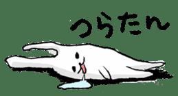 Drool rabbit sticker #311404