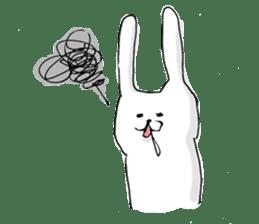 Drool rabbit sticker #311410