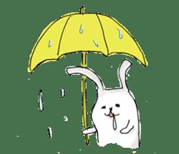Drool rabbit sticker #311416