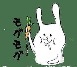 Drool rabbit sticker #311417