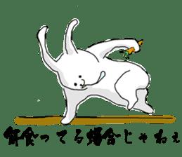 Drool rabbit sticker #311420