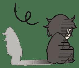 Grey is... - Chibi Ver. sticker #311642