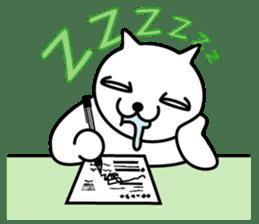 cat sticker #311696