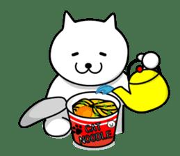 cat sticker #311697