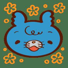 "Rinrin's ""Fluffy and friends"" sticker #311964"