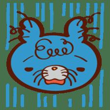 "Rinrin's ""Fluffy and friends"" sticker #311965"