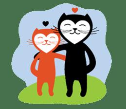 The Love Cats sticker #312707