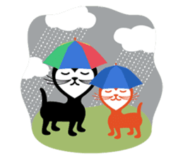 The Love Cats sticker #312709