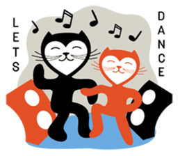 The Love Cats sticker #312710