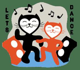 The Love Cats sticker #312710