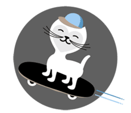 The Love Cats sticker #312739