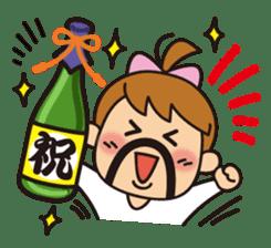 OYADI-LADY sticker #312788