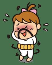 OYADI-LADY sticker #312791