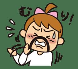 OYADI-LADY sticker #312801