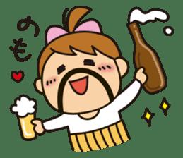 OYADI-LADY sticker #312805
