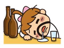 OYADI-LADY sticker #312808