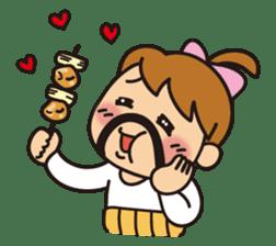 OYADI-LADY sticker #312811