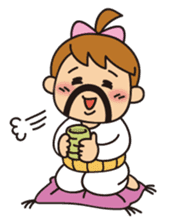 OYADI-LADY sticker #312812