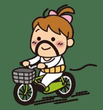 OYADI-LADY sticker #312814
