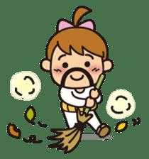 OYADI-LADY sticker #312815